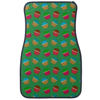 Grünes Kuchenmuster Automatte