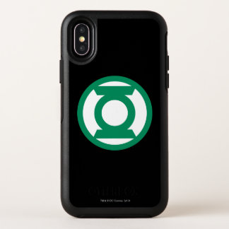 Grünes Laternen-Logo 13 OtterBox Symmetry iPhone X Hülle