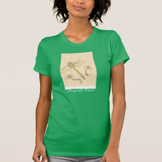 Grünes Libellen-Shirt T-Shirt