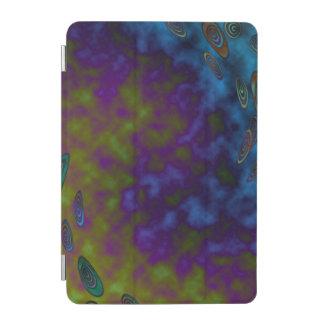 Grünes lila kosmisches abstraktes iPad mini hülle