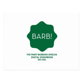 Grünes Logo Postkarten