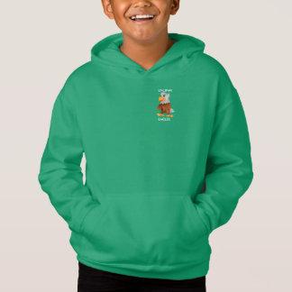 Grünes mit Kapuze Sweatshirt Eddie