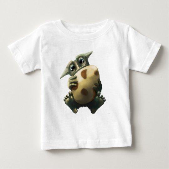 Grünes Monster Baby T-shirt