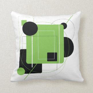 Grünes Neid-Entwurfs-Wurfs-Kissen Kissen