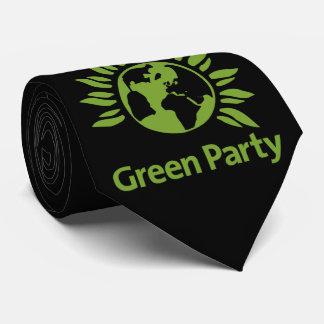 Grünes Party von England und von Wales Personalisierte Krawatten