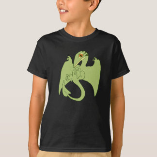 Grünes Pterosaur T-Shirt