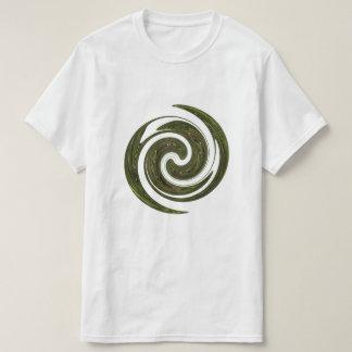 Grünes Rad-Energie-Logo T-Shirt