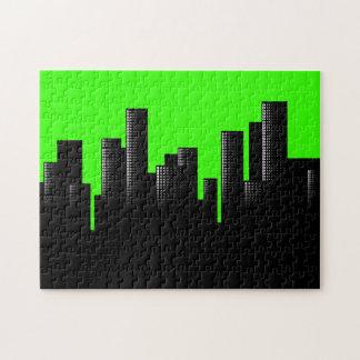 grünes Stadtbild