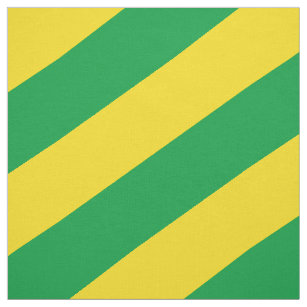 Grünes und gelbes gestreiftes Muster Stoff