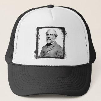 Grunge-Rahmen-General Robert E. Lee USA Truckerkappe