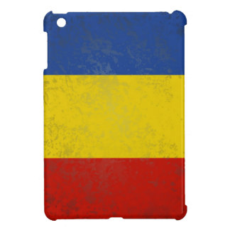 GRUNGE ROMANIA FLAG CASE iPad MINI COVER