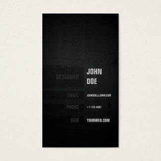 Grunge& städtisch visitenkarte