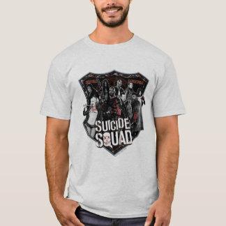 Gruppen-Abzeichen-Foto der Selbstmord-Gruppe-| T-Shirt