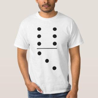 Gruppen-Kostüm der Domino-6-3 T-Shirt