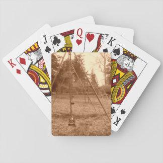 Gruselige Spielplatz-Standard-Karten Spielkarten