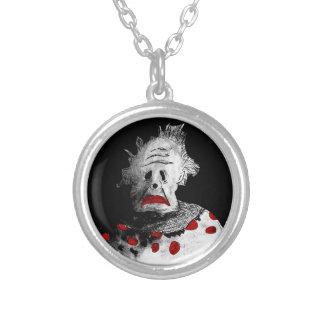 Gruseliger Clown Versilberte Kette