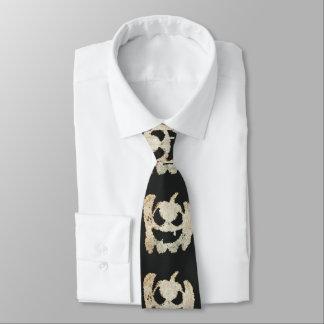 Gruseliger Halloween-Kürbis Bedruckte Krawatten