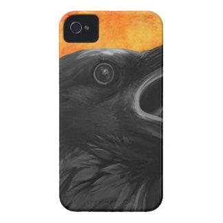 Gruseliger Rabe Case-Mate iPhone 4 Hüllen