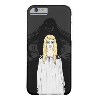 Gruseliges Monster, Schrecken-Geist-Mädchen-allein Barely There iPhone 6 Hülle