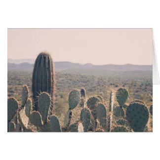 Gruß-Karte Arizona-Kaktus-| Karte