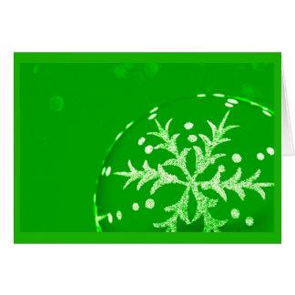 Gruß Karte-Feiertag Kunst-Weihnachten 120 Mitteilungskarte