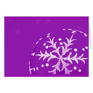 Gruß Karte-Feiertag Kunst-Weihnachten 121 Mitteilungskarte