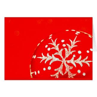 Gruß Karte-Feiertag Kunst-Weihnachten 123 Mitteilungskarte