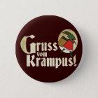 Gruss Vom Krampus Runder Button 5,7 Cm