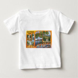 Grüße vom Bar-Hafen, Maine! Baby T-shirt