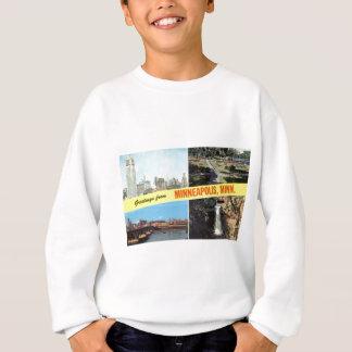 Grüße von Minneapolis-fünfziger Jahren Sweatshirt