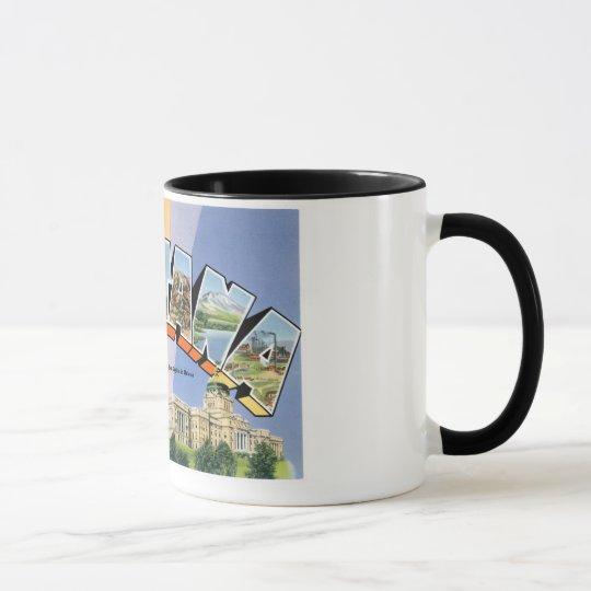 Grüße von Montana! Tasse