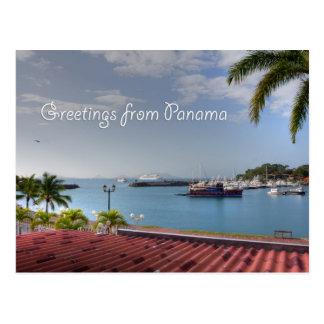 Grüße von Panamakanal, Postkarte