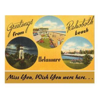 Grüße von Rehoboth Strand Postkarten