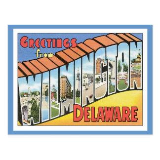Grüße von Wilmington Delaware Postkarte