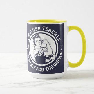 GSA Rosie Gold und Blau der Tasse