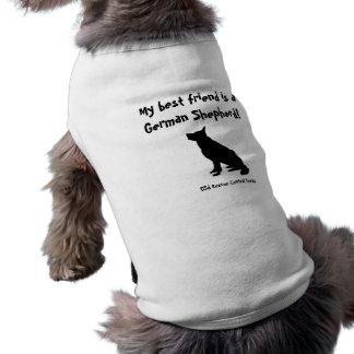 GSD T - Shirt besten Freunds für kleine Hunde