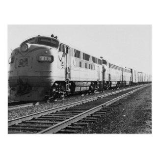 GTW Dieselzug #92 Motor-#9008 nach Osten gehend Postkarte