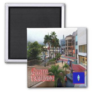 GU - Guam - Tamuning Quadratischer Magnet