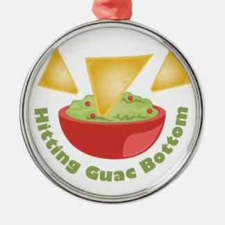 Guac Botom Silbernes Ornament