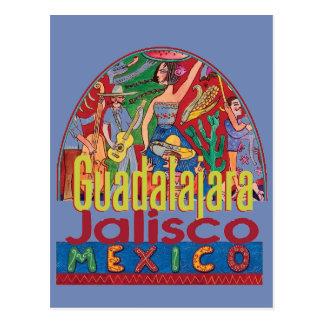 GUADALAJARA Mexiko Postkarte