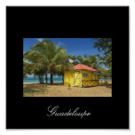 guadeloupe-plage, Guadeloupe Affiches