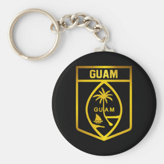 Guam-Emblem Schlüsselanhänger