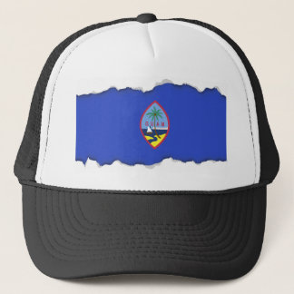 Guam-Flagge Truckerkappe