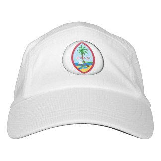 Guam-Gebiets-Siegel Headsweats Kappe