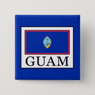 Guam Quadratischer Button 5,1 Cm