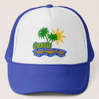 Guam-Staat des Sinneshutes - wählen Sie Farbe Truckerkappe