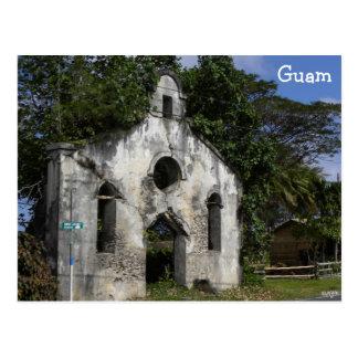 Guambaptistenkirchen-Ruinen Postkarte