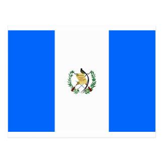 Guatemala-Flagge Postkarte