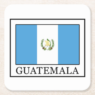 Guatemala Rechteckiger Pappuntersetzer