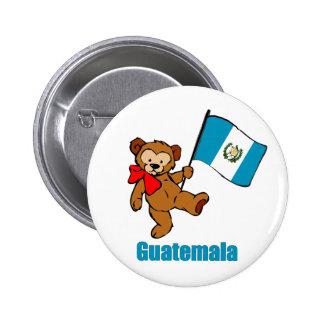 Guatemala-Teddybär-Knopf Runder Button 5,7 Cm